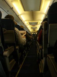 objets trouves à bord d'un avion