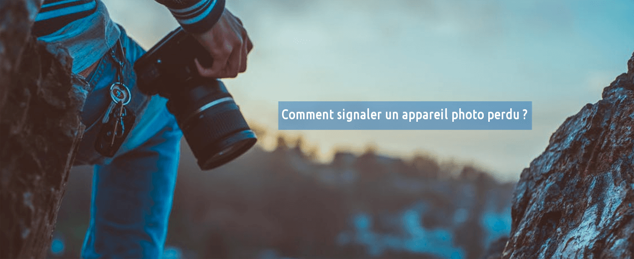 appareil photo perdu
