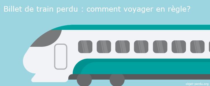 Comment voyager en règle en cas d'oubli de son billet de train?