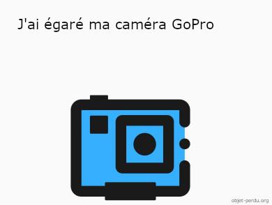 Conseils en cas de perte de sa GoPro