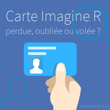 Carte Imagine R perdue