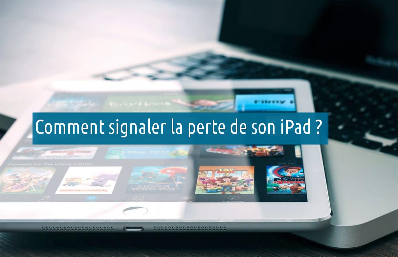iPad perdu ou volé