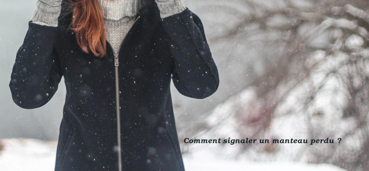 signaler un manteau perdu