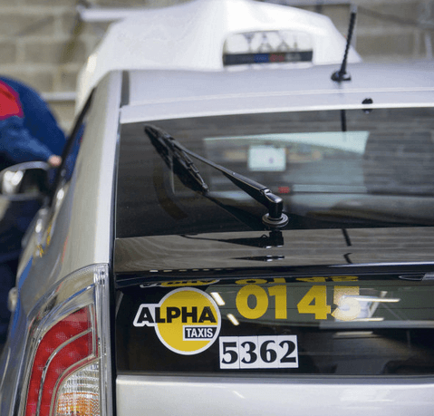objet perdu alpha taxi