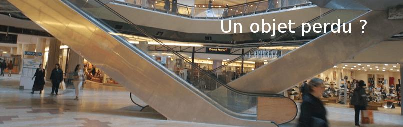 objet perdu au centre commercial part dieu
