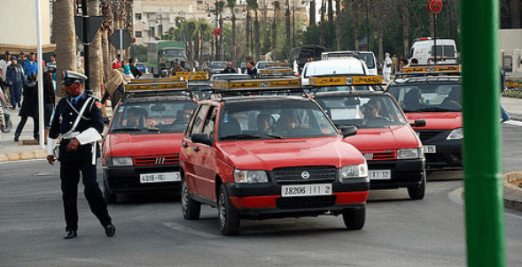 Objet perdu taxi Casablanca