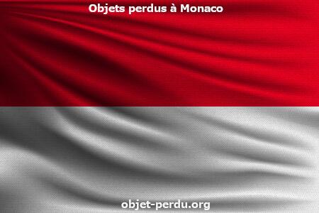 objets perdus et trouvés à Monaco