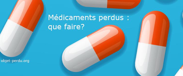Médicaments perdus ou oubliés : que faire?