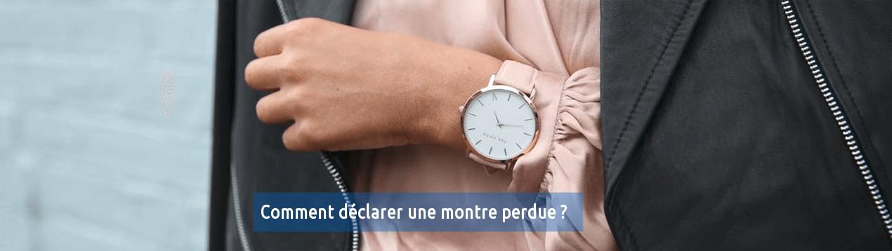 retrouver sa montre