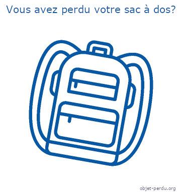 Que faire en cas de perte de son sac à dos
