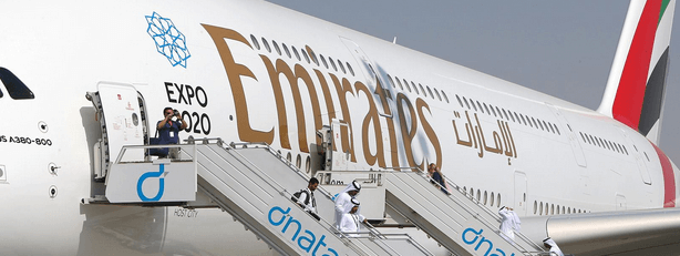 Vol Emirates